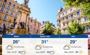 Météo Grenoble: Prévisions du samedi 20 juillet 2019