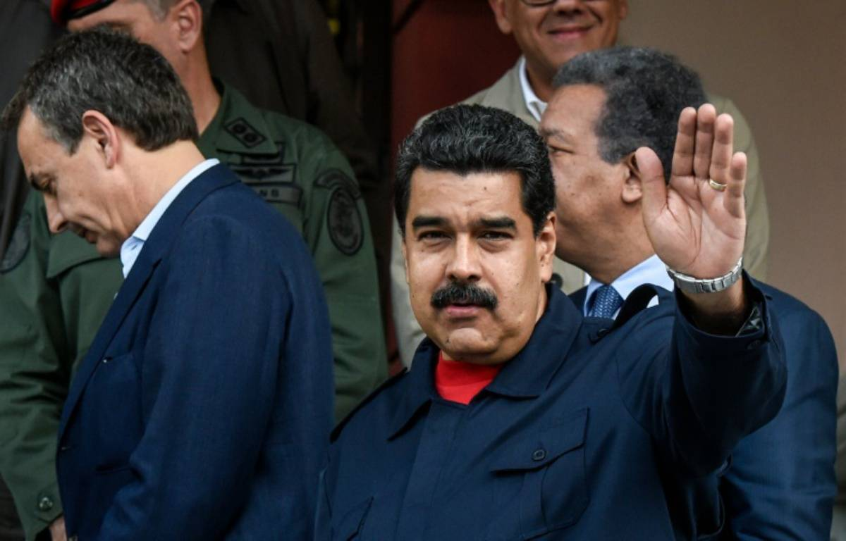 Le président vénézuélien Nicolas Maduro le 21 juillet 2016 à Caracas – JUAN BARRETO AFP