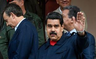 Le président vénézuélien Nicolas Maduro le 21 juillet 2016 à Caracas