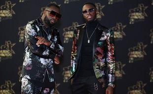 Gims et Dadju aux NRJ Music Awards, le 10 novembre 2018.