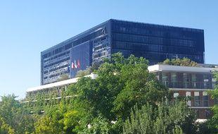 La mairie de Montpellier.