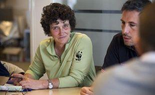 Isabelle Autissier, présidente du WWF France, invitée de la rédaction de 20 Minutes le 18 juin 2013.