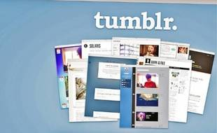 Tumblr offre un service de blog aux fonctionnalités sociales.