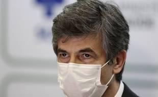 Le ministre brésilien démissionnaire de la santé Nelson Teich, à Brasília le 15 mai 2020.