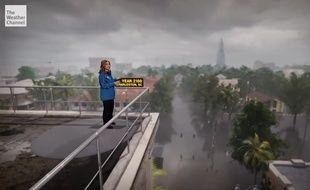 La chaîne météo américaine The Weather Channel simule les effets du réchauffement climatique sur les villes en 2100.