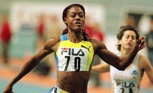L'ancienne athlète Merlene Ottey, le 2 février 2000 à Valence, en Espagne.