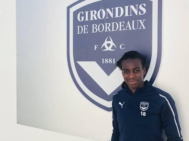 Viviane Asseyi est sous contrat jusqu'en 2020 avec les Girondins de Bordeaux.