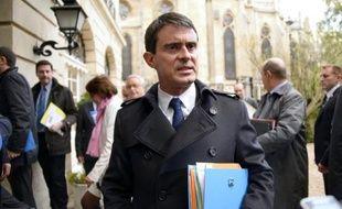 Manuel Valls à Paris le 4 novembre 2014