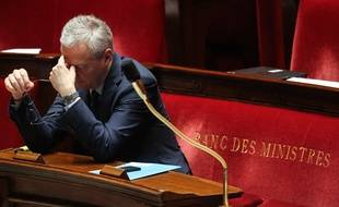 Bruno Le Maire, le ministre de l'Economie. (Illustration)