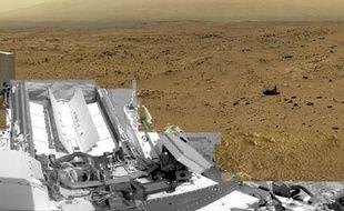 Un spectaculaire panorama de Mars à360 degrés.