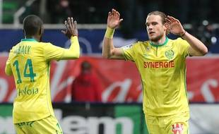 Guillaume Gillet et Youssouf Sabaly