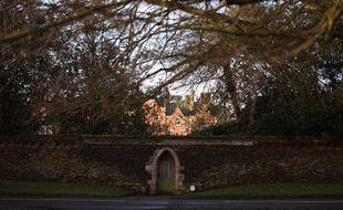 La résidence royale de Sandringham House, au Royaume-Uni.