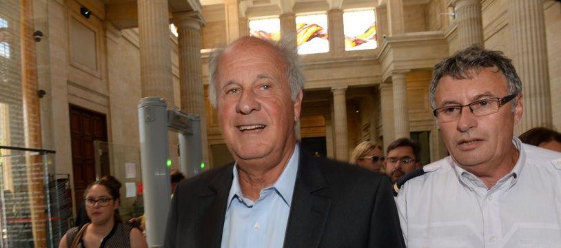 Patrice de Maistre, ancien gestionnaire de la fortune de Liliane Bettencourt. AFP PHOTO / MEHDI FEDOUACH