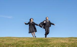 Juliette Binoche et Edouard Baer dans «La Bonne épouse» de Martin Provost