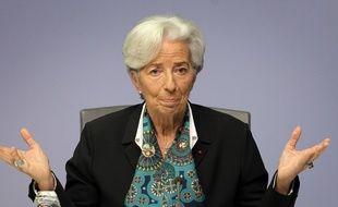 Christine Lagarde, présidente de la BCE, le 12 décembre 2019.
