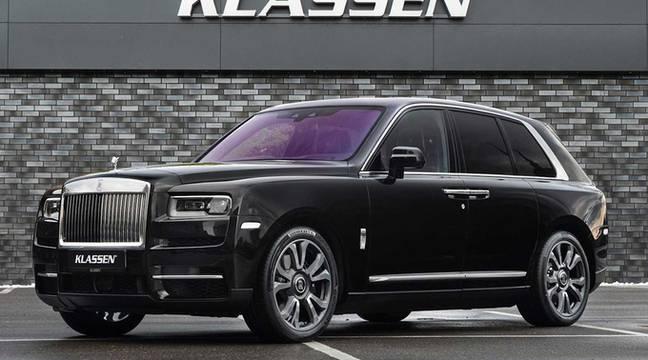 Ce SUV Rolls-Royce résiste aux grenades !