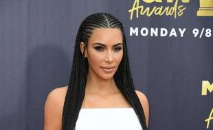 Kim Kardashian aux MTV Movie & TV awards, à Santa Monica (Californie) le 10 avril 2019.