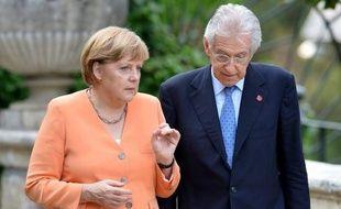 La valse des consultations sur la crise en zone euro, avec l'Espagne à nouveau en ligne de mire suite à l'appel à l'aide de la Catalogne, se poursuit mercredi avec la visite à Berlin du chef du gouvernement italien Mario Monti.