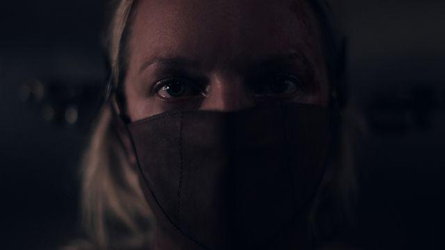 June (Elisabeth Moss) dans la saison 4 de « The Handmaid's Tale ».
