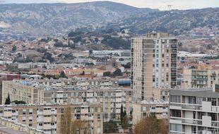 Illustration des quartiers nord de Marseille.