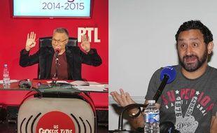 Depuis la rentrée 2014, Laurent Ruquier présente «Les Grosses Têtes» sur RTL pendant que Cyril Hanouna anime «Les pieds dans le plat» sur Europe 1.