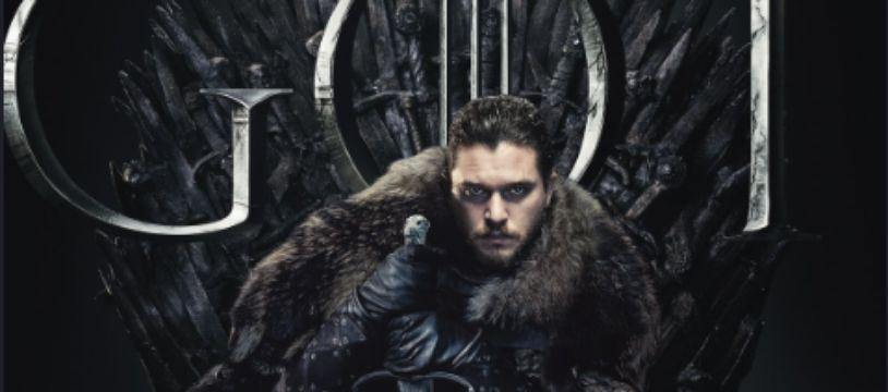 Jon Snow sur le Trône de fer