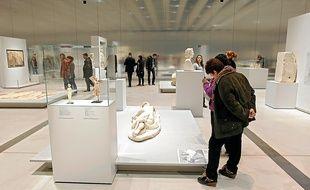 Le Louvre-Lens et la Galerie du temps ont attiré plus de 540000 visiteurs depuis son inauguration le 4 décembre.