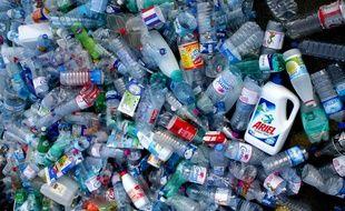 Des bouteilles en plastique (illustration).
