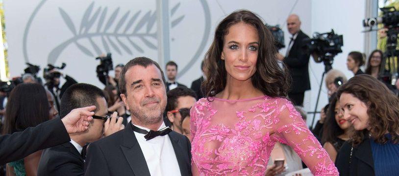 Arnaud Lagardère et Jade Foret au Festival de Cannes.