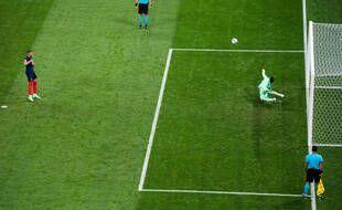 Le penalty de la lose de Mbappé.