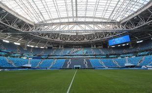 Le stade de Saint-Petersbourg, en Russie.