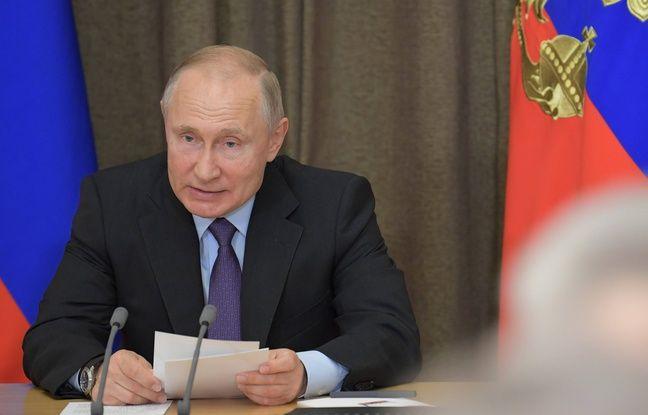 Russie: Vladimir Poutine promet une «réponse symétrique» à l'essai d'un missile américain