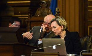 Virginie Calmels avec Alain Juppé au conseil de Bordeaux