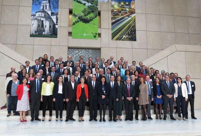 La nouvelle assemblée du conseil régional des Pays de la Loire, jeudi 19 octobre 2017.
