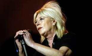 Marianne Faithfull sur scène en France en 2007.