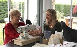 Margaux et sa grand-mère Martine, fondatrices de Benenota.