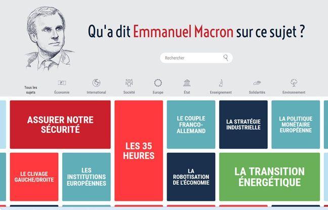 Site Vision-Macron