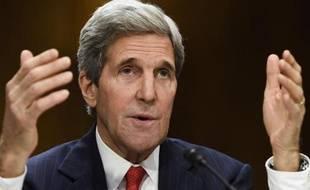 Le secrétaire d'Etat américain John Kerry, le 8 avril 2014 à Washington