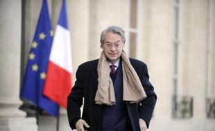Philippe Marini, le 10 février 2012 à Paris
