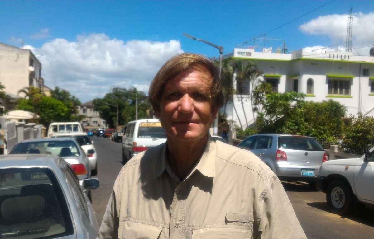Blaine Gibson pose pour une photo à Maputo, au Mozambique, le 3 mars 2016. – Tom Bowker/AP/SIPA