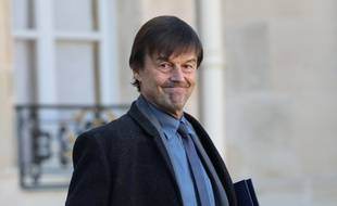 Le ministre de la Transition écologique Nicolas Hulot a déclaré que l'Etat réfléchissait à un bonus-malus énergétique sur les logements le 23 novembre 2017.