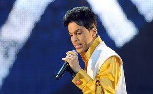 Prince en concert au Stade de France à Paris le 30 juin 2011.