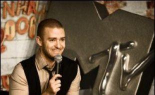 Le chanteur américain Justin Timberlake présente jeudi soir à Copenhague la 13e édition des MTV Europe Music Awards, pour laquelle les Red Hot Chili Peppers font figure de favoris avec quatre nominations.