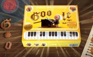 Le Doodle de Google se met au tempo de Jean-Sébastien Bach les 21 et 22 mars 2019.