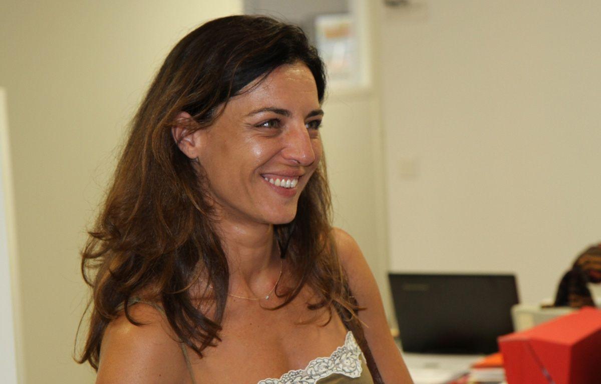 Coralie Dubost, référente de La République en marche dans l'Hérault, élue sur la troisième circonscription. – Jérôme Diesnis / Agence Maxele Presse