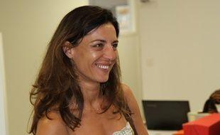 Coralie Dubost, référente de La République en marche dans l'Hérault, élue sur la troisième circonscription.