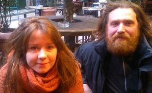 Alice et Gérald ont lancé les Ginger Party à Lyon, soirées réservées aux roux.