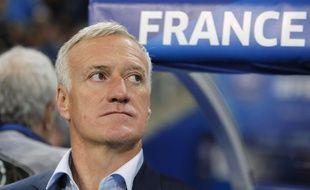 Le sélectionneur des Bleus Didier Deschamps.