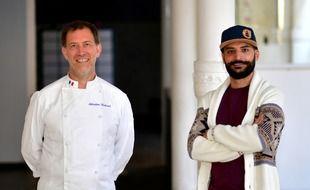 Ce projet est porté par Sébastien Richard,chef cuisiner, et Sylvain Martin, membre fondateur du Collectif solidaire.