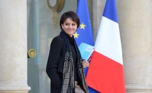 La ministre des Droits des femmes Najat Vallaud-Belkacem le 11 décembre 2013.
